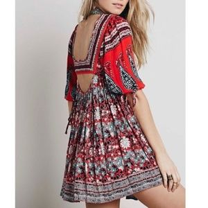 🎉HP🎉FREE PEOPLE MIDSUMMER DREAM MINI DRESS